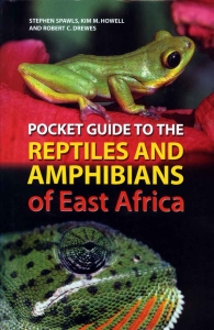 Cover of Pocket Guide to Reptiles and Amphibians of East Africa