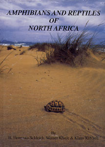 Cover of Amphibians and reptiles of North Africa