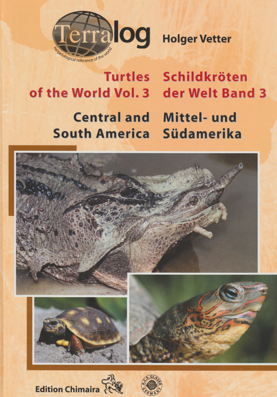 Cover of Turtles of the World v.3