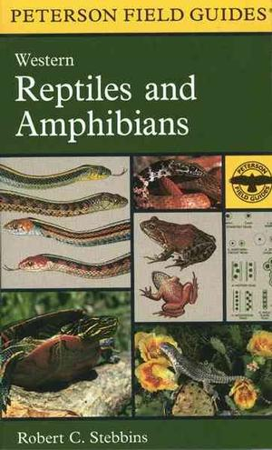 Cover of A field guide to western reptiles and amphibians