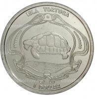 Тортуга остров (Гаити) 2019 1 доллар-1