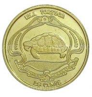 Тортуга остров (Гаити) 2019 25 центов-1