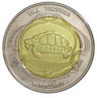 Тортуга остров (Гаити) 2019 5 долларов-1