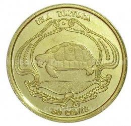 Тортуга остров (Гаити) 2019 50 центов-1